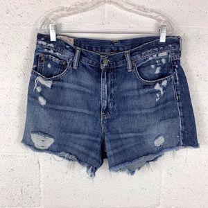 Polo Ralph Lauren Sz 30 Denim Crosby Shorts